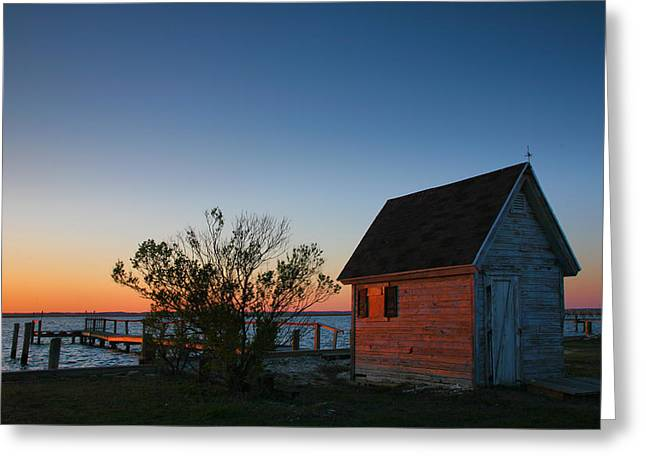 Crab Shack IIi Greeting Card by Steven Ainsworth