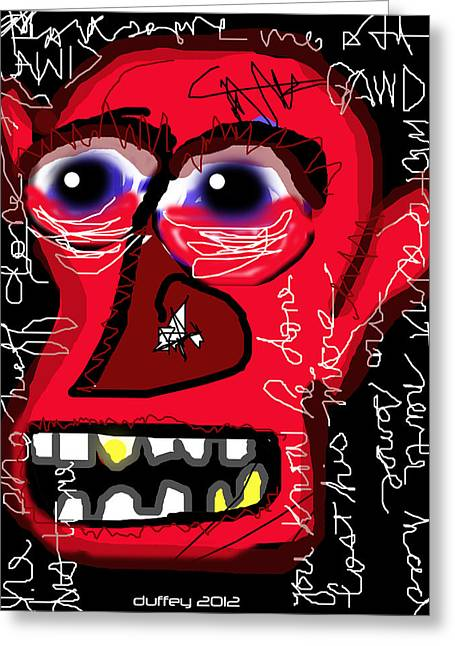 Crackhead 2 Greeting Card