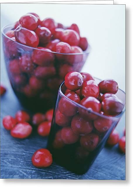 Cranberries Greeting Card by David Munns