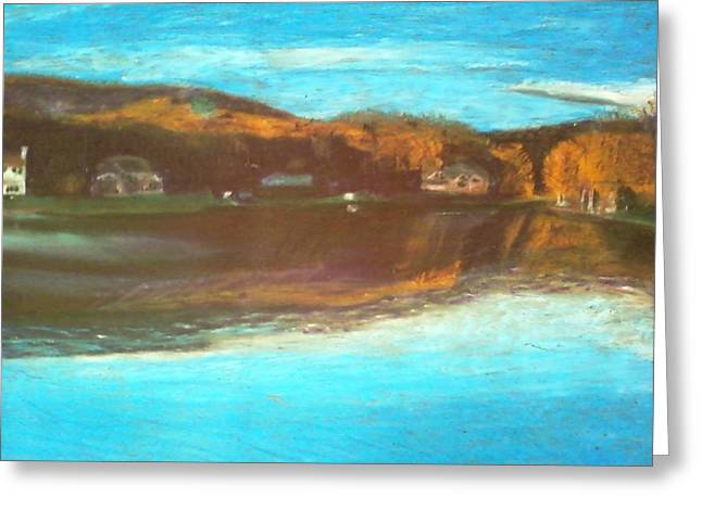 Crandon Lakes In November Greeting Card by Samuel McMullen