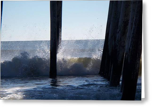 Crashing Wave Greeting Card