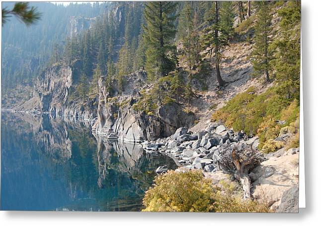 Crater Lake Reflections Greeting Card