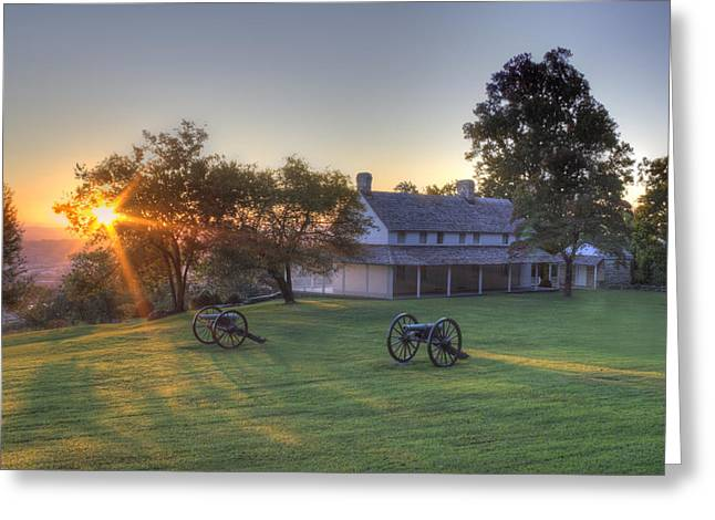 Cravens House Greeting Card by David Troxel