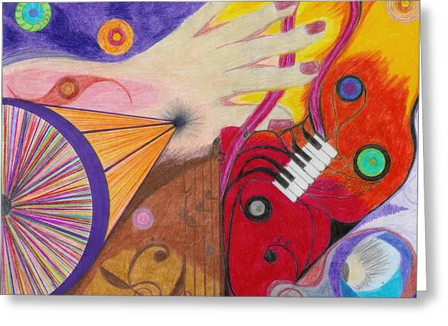 Creativity Greeting Card by Aileen Heymach