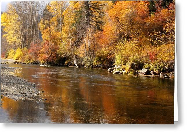 Creek Of Leavenworth Greeting Card