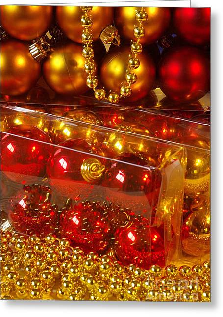 Crhistmas Decorations Greeting Card