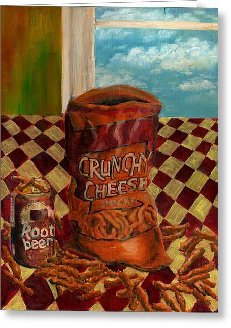 Crunchy Cheese - Autumn Greeting Card