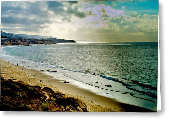 Greeting Card featuring the photograph Crystal Cove Beach by Joseph Hollingsworth