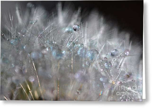 Crystal Flower Greeting Card
