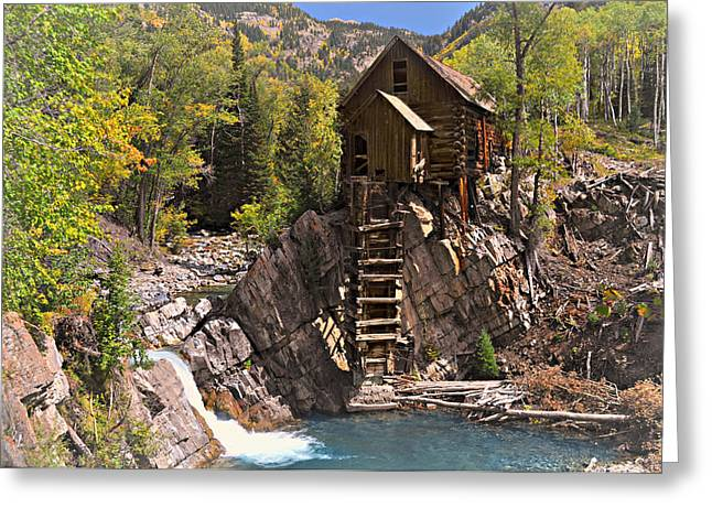 Crystal Mill 3 Greeting Card by Marty Koch
