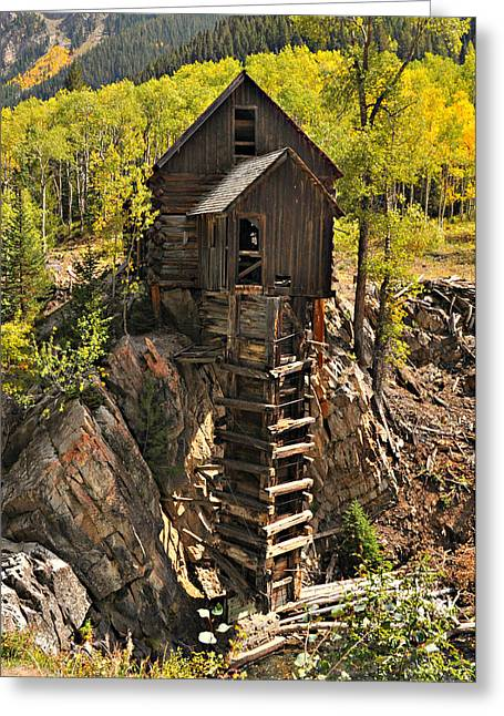 Crystal Mill 6 Greeting Card by Marty Koch