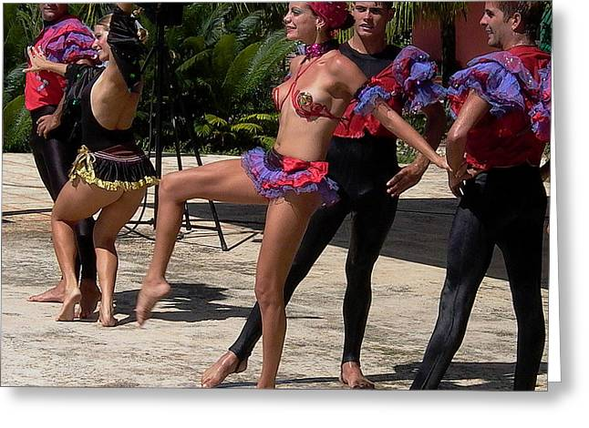 Cuba Dance Greeting Card