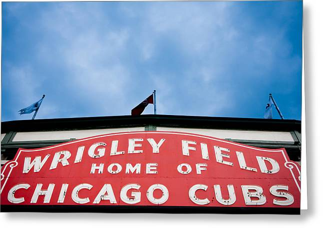 Cubs Sign Greeting Card
