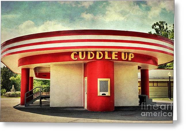 Cuddle Up Greeting Card by Susan Isakson