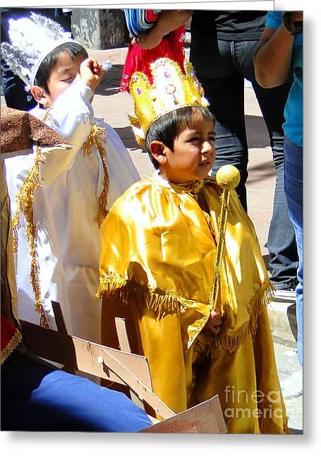 Cuenca Kids 168 Greeting Card