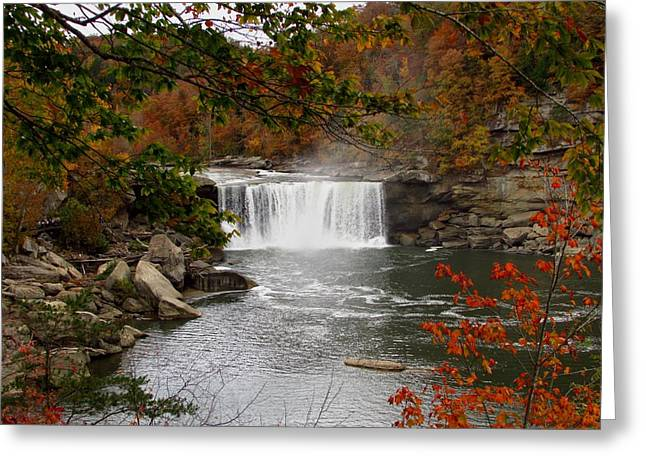 Cumberland Falls 2 Greeting Card