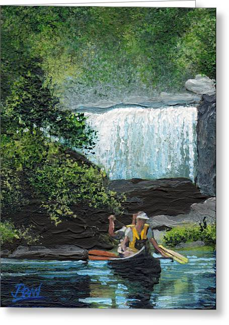 Cumberland Falls Greeting Card