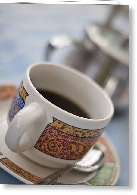 Cup Of Coffee Greeting Card by David DuChemin