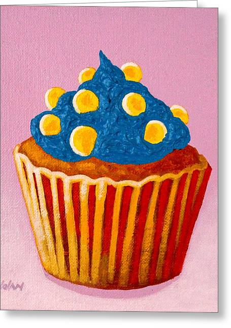Cupcake  Greeting Card by John  Nolan