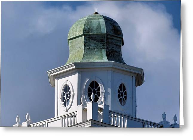 Cupola Greeting Card by Janice Drew