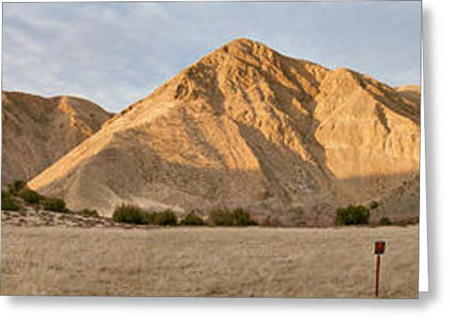 Curry Mountain Panorama Greeting Card by Larry Darnell