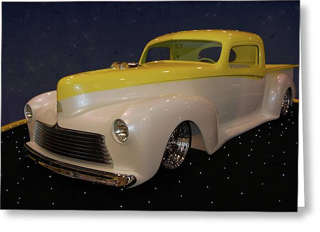 Custom Hudson Pickup Greeting Card by Bill Dutting
