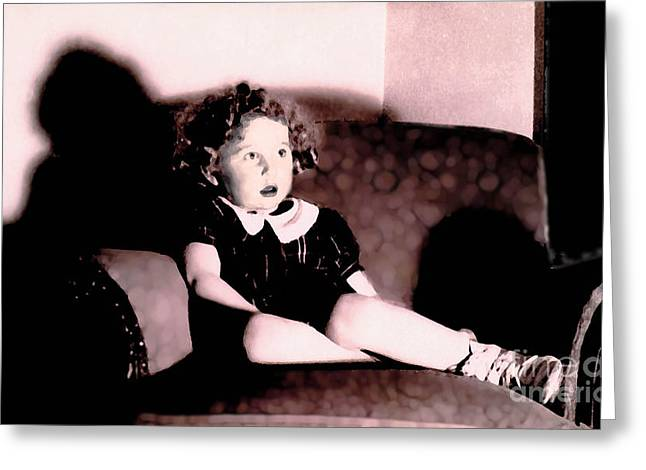Greeting Card featuring the photograph Daddy's Chair by David Klaboe