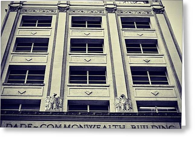 Dade Commonwealth Bldg. - Miami ( 1925 Greeting Card