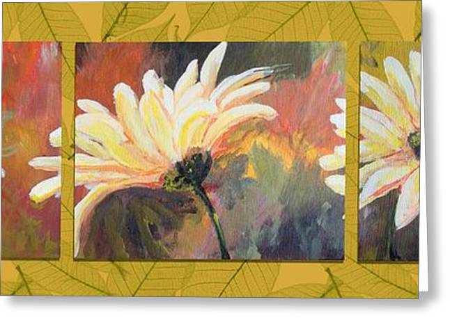 Daisies Three Greeting Card