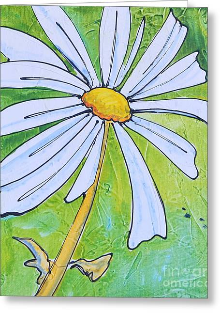 Daisy Face Greeting Card