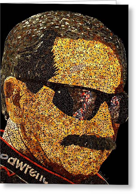 Dale Earnhardt Tribute Greeting Card