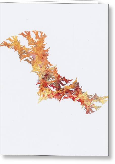 Damaged Dna Greeting Card by Ken Walters