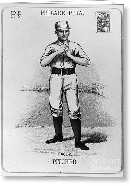 Dan Casey (1862-1943) Greeting Card by Granger