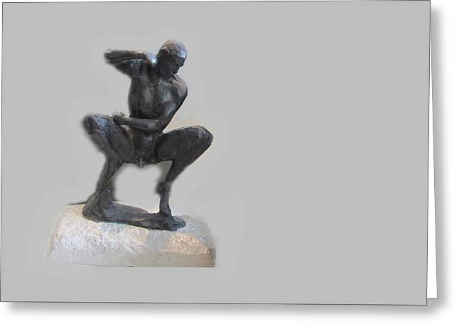 Dancer Greeting Card by Colleen ODonnell