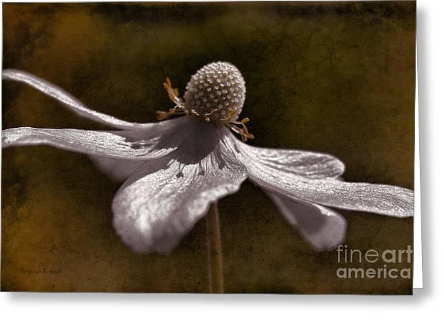 Dancing In The Breeze Greeting Card by Deborah Benoit