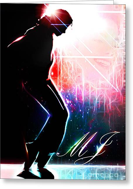 Dancing In The Stars Greeting Card by The DigArtisT