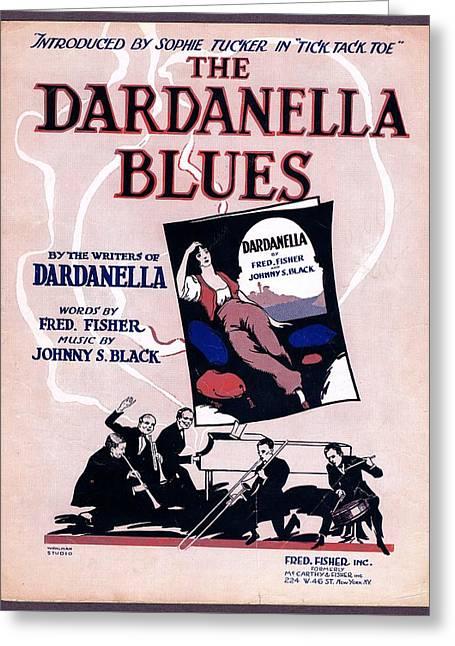 Dardanella Blues Greeting Card