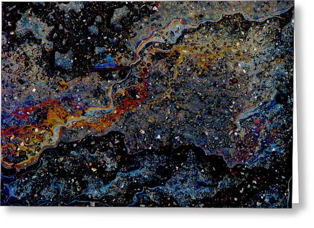 Greeting Card featuring the photograph Dark Matter by Samuel Sheats