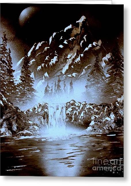 Dark Mountain Greeting Card
