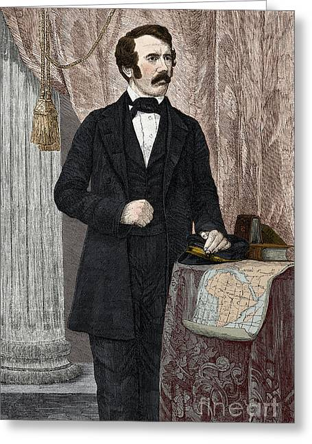 David Livingstone, Scottish Missionary Greeting Card by New York Public Library