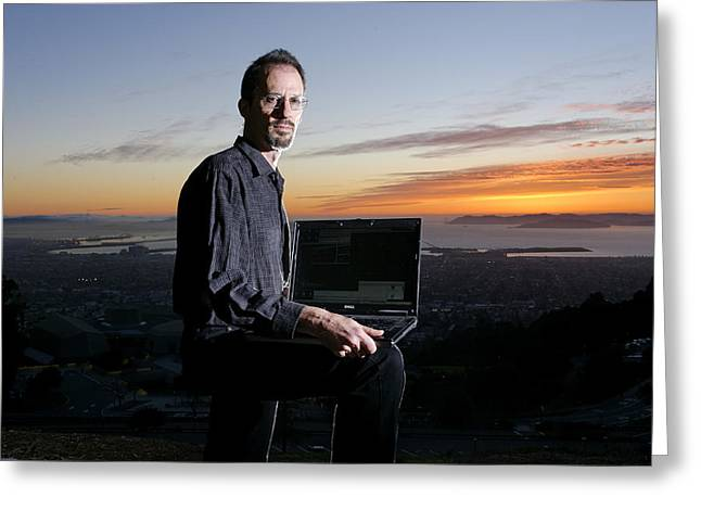 David P. Anderson, Us Computer Scientist Greeting Card