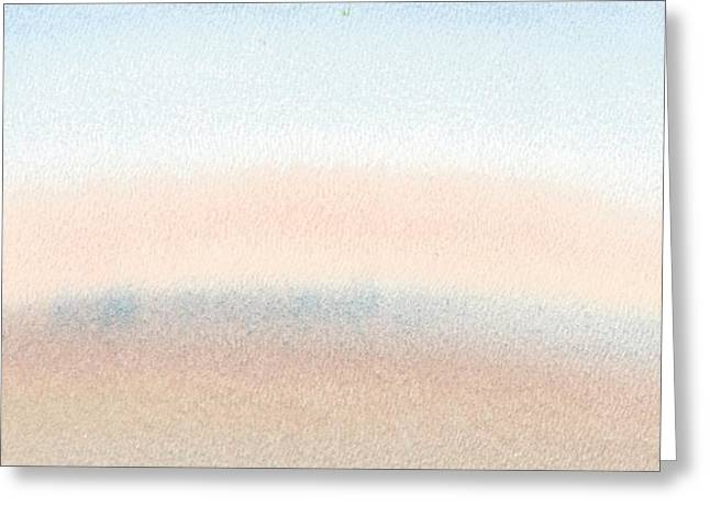 Dawn Across The Isle Of Wight Greeting Card by Alan Daysh