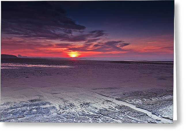 Dawn At Ardeer Greeting Card by Fiona Messenger
