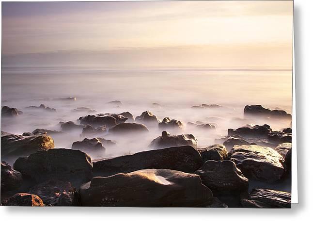 Dawn At Sea Greeting Card by Svetlana Sewell