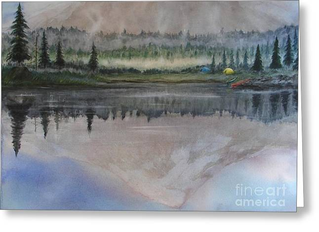 Dawn Reflections Greeting Card