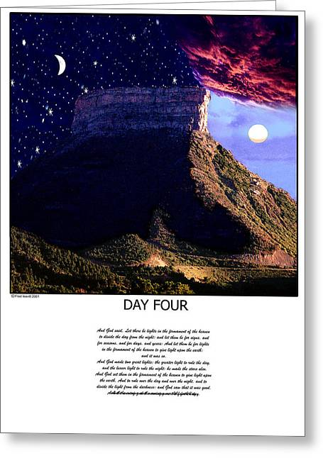 Day Four Greeting Card