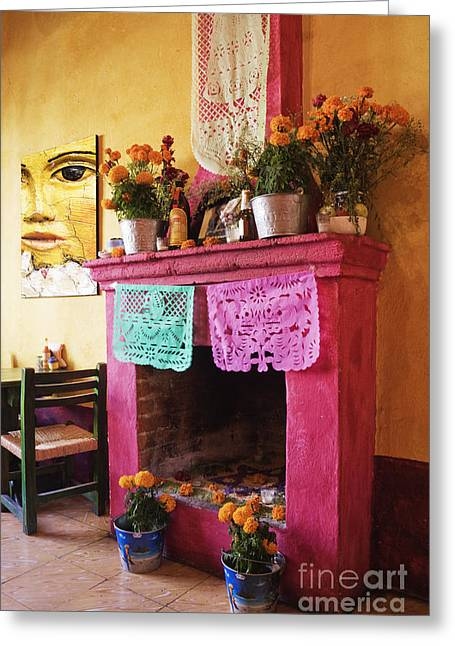 Day Of The Dead Altar Greeting Card