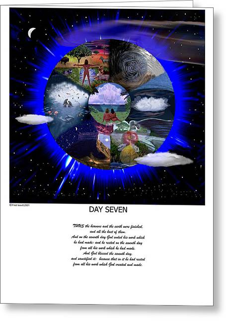 Day Seven Greeting Card