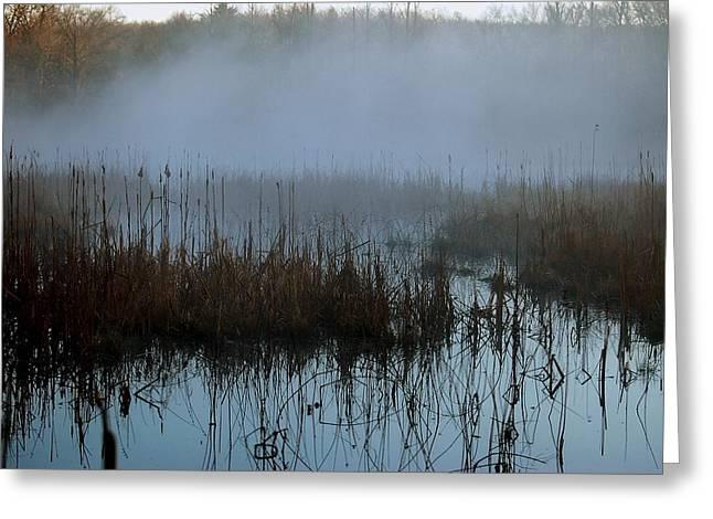 Daybreak Marsh Greeting Card