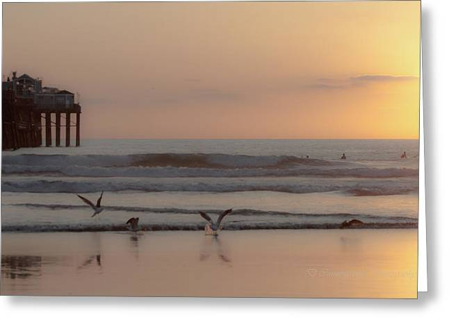 Day's End Greeting Card by Dorothy Cunningham